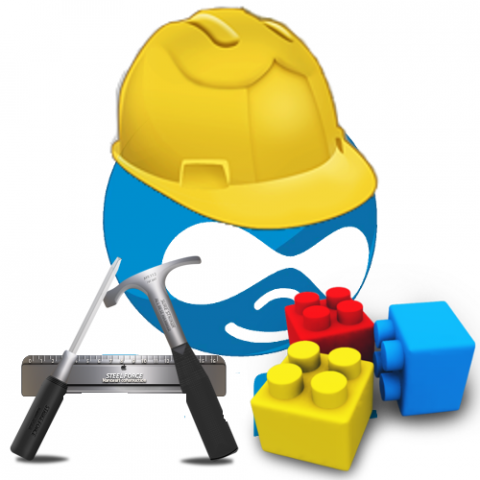 Druplicon as a Construction Worker