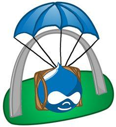 Druplicon as a Skydiver